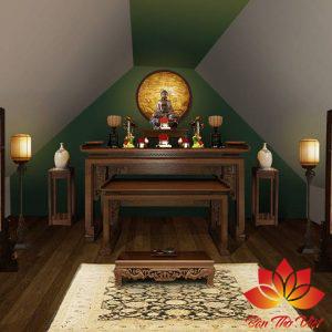 Vị trí đặt bàn thờ trong căn hộ chung cư