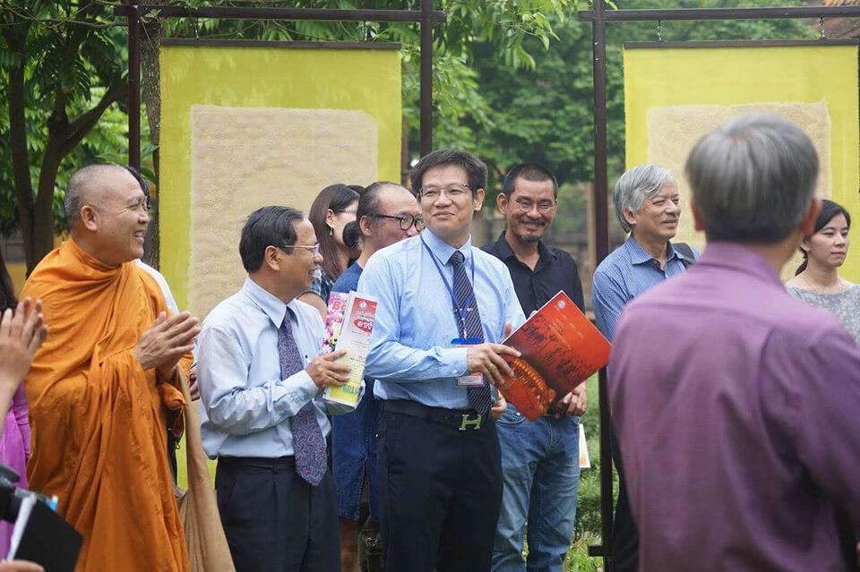 Phát biểu khai mạc triển lãm Trúc chỉ - Điện Long An