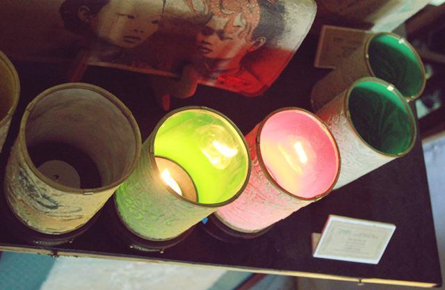 Ứng dụng ánh sáng đa dạng từ những chiếc đèn nến trúc chỉ