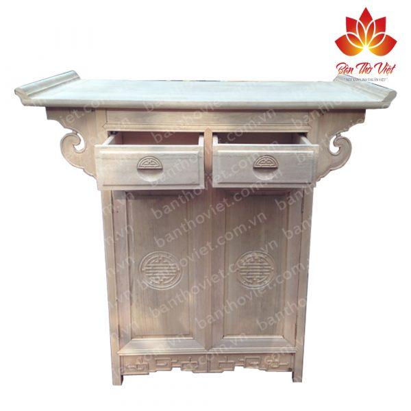 Chất liệu gỗ quyết định chất liệu tủ thờ gia tiên