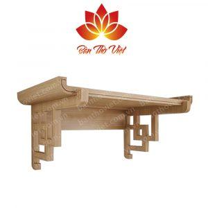 Tổng hợp các mẫu bàn thờ treo tường gỗ Gụ Đẹp và hiện đại