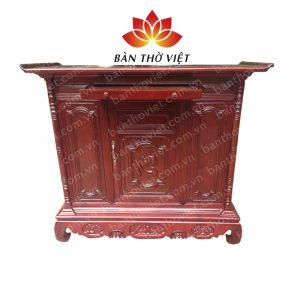 Tủ thờ gỗ mít không mọt, lại có mùi thơm
