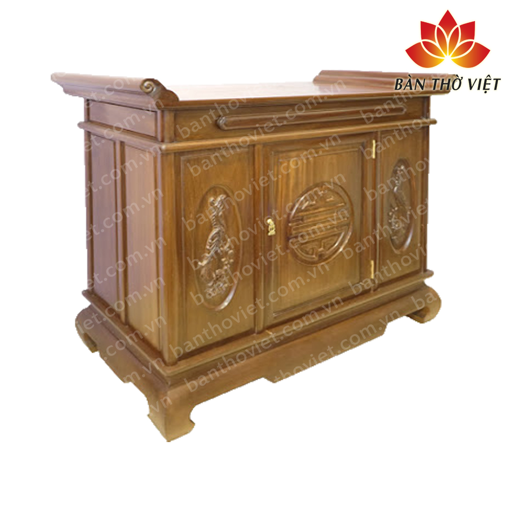 Tủ thờ nên làm bằng gỗ gì Tốt nhất mang lại may mắn cho gia chủ