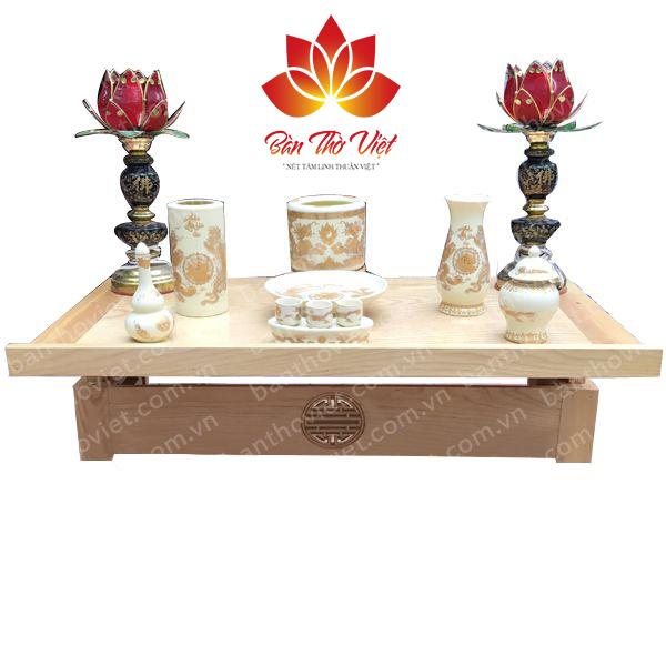 Các mẫu bàn thờ treo tường gỗ mít Đẹp và Sang trọng - 264217