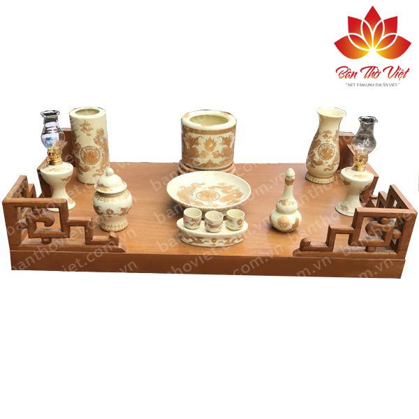 Các mẫu bàn thờ treo gỗ Sồi được thiết kế Đẹp và chuẩn phong thủy