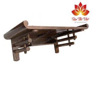 Các mẫu bàn thờ treo tường dài hợp phong thủy và cách bố trí