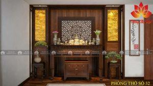Một số mẫu tủ thờ gỗ quý hot hiện nay