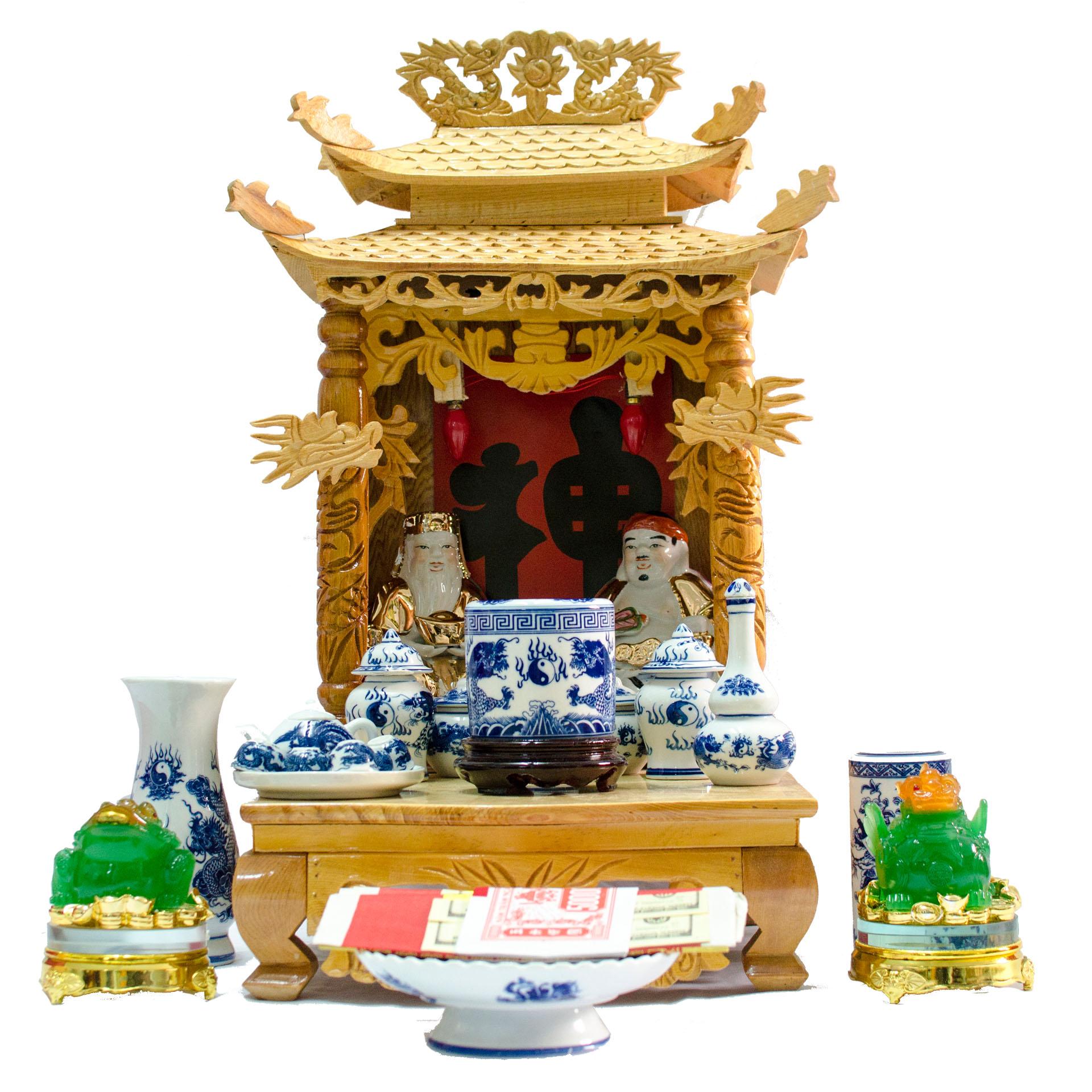 Mẫu bàn thờ thần tài