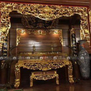 Một số mẫu tủ thờ án gian hiện đại và đẹp nhất
