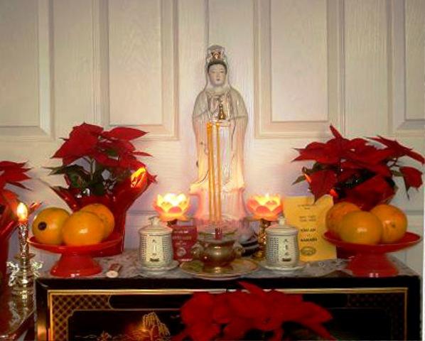 Ý nghĩa của việc lập tủ thờ Phật bà Quan Âm tại nhà