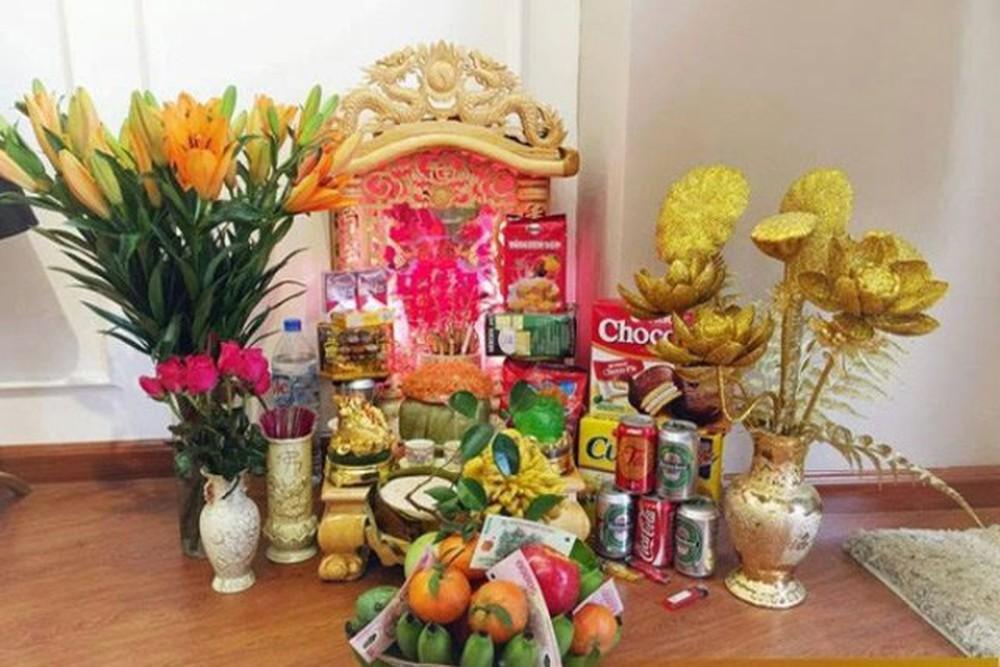 Mẫu bàn thờ Ông Địa hợp phong thủy
