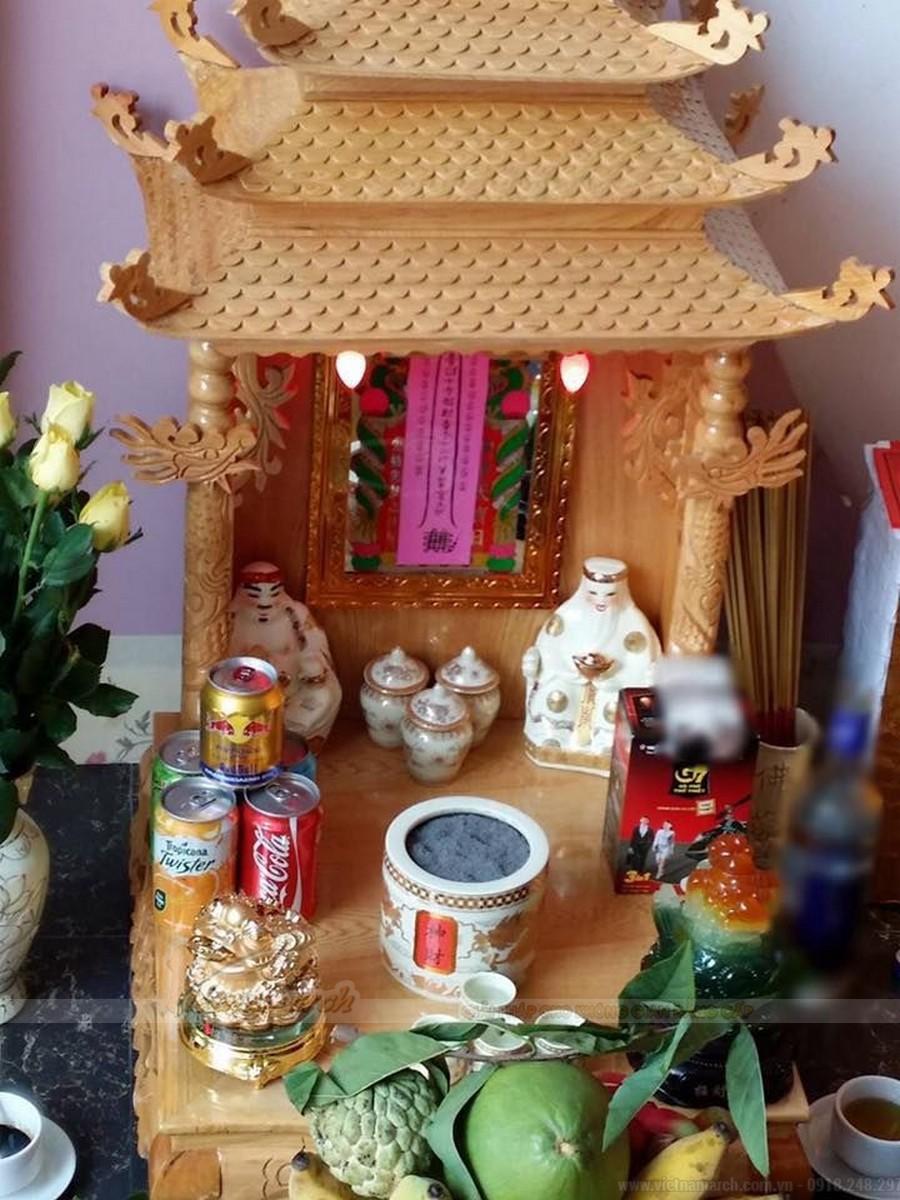 Hướng kê bàn thờ thần TÀI chuẩn nhất để HÚT LỘC vào nhà