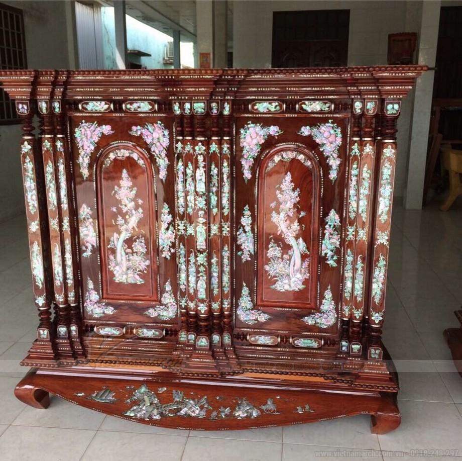 Các mẫu tủ thờ cổ đẹp từ Bắc vào Nam đẹp nhất hiện nay