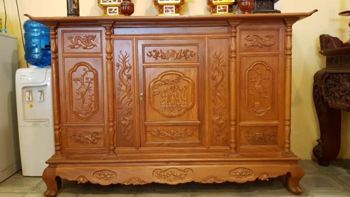 Các mẫu tủ thờ Xoan Đào đẹp được thiết kế CHUẨN phong thủy