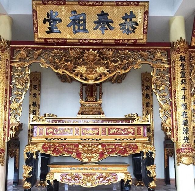 Tổng hợp các mẫu sập thờ sơn son thếp vàng đẹp nhất