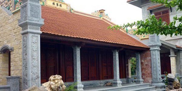 Tổng hợp các mẫu nhà thờ họ gỗ, từ đường bằng gỗ đẹp