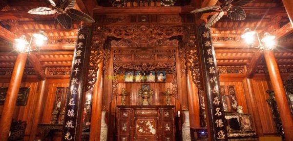 Cách bố trí bàn thờ nhà thờ tổ CHUẨN phong thủy nhất
