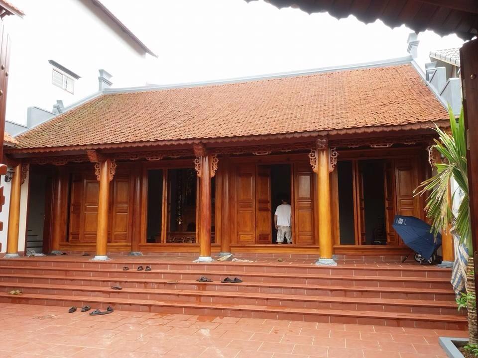 Mẫu thiết kế nhà thờ họ tổ truyền thống đẹp mẫu 4