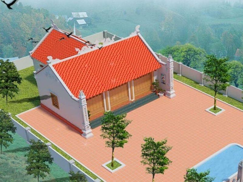 Các mẫu thiết kế nhà thờ họ có hậu cung đẹp