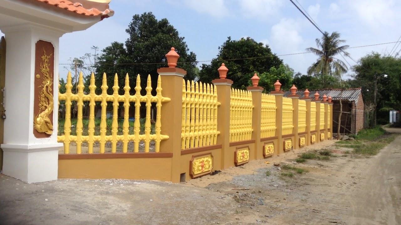 Các mẫu thiết kế tường rào nhà thờ họ sang trọng đậm nét cổ kính