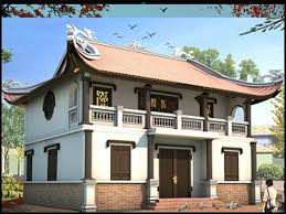 Các mẫu nhà thờ họ 2 tầng đẹp được nhiều dòng họ lựa chọn