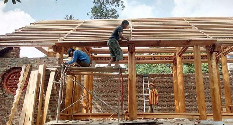 Đảm bảo kích thước nhà thờ họ 3 gian trong quá trình xây dựng rất quan trọng