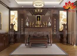 Mẫu thiết kế phòng thờ đẹp hợp phong thủy hút vượng khí