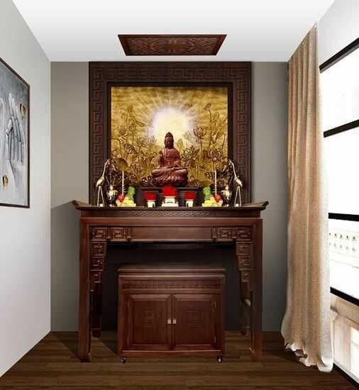 Các mẫu thiết kế phòng thờ chung cư Đẹp và Sang Trọng