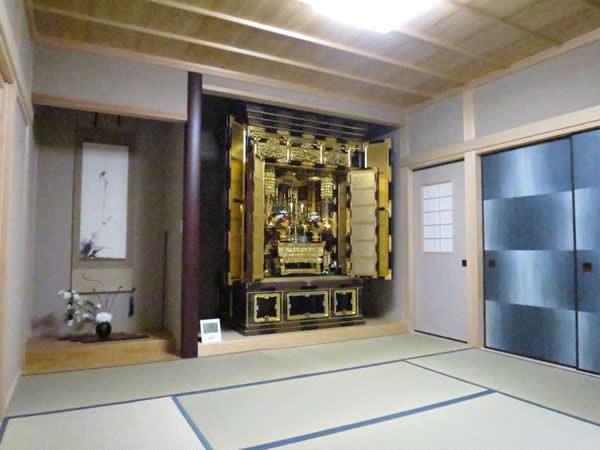 Các mẫu phòng thờ kiểu Nhật đẹp - Hiện đại đậm phong cách